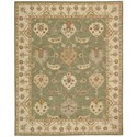 "Nourison India House 8' x 10'6"" Kiwi Rectangle Rug - Item Number: IH87 KIWI 8X106"