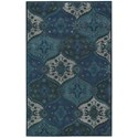 Nourison India House 5' x 8' Denim Rectangle Rug