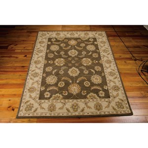 "Nourison India House 3'6"" x 5'6"" Mushroom Rectangle Rug"