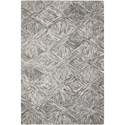 "Nourison Interlock 5'X7'6""  Rug - Item Number: ITL01 CHARC 5X76"