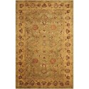"Nourison Jaipur 3'9"" x 5'9"" Green Rectangle Rug - Item Number: JA12 GRE 39X59"