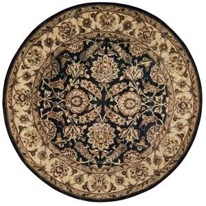 Nourison Jaipur 8' x 8' Black Round Rug