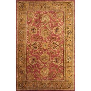 "Nourison Jaipur 5'6"" x 8'6"" Burgundy Rectangle Rug"