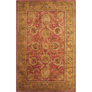 "Nourison Jaipur 7'9"" x 9'9"" Burgundy Rectangle Rug"