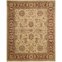 "Nourison Jaipur 8'3"" x 11'6"" Beige Rectangle Rug - Item Number: JA22 BGE 83X116"