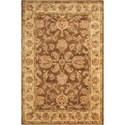 "Nourison Jaipur 3'9"" x 5'9"" Brown Rectangle Rug - Item Number: JA23 BRN 39X59"