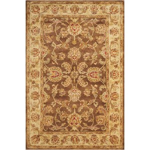 "8'3"" x 11'6"" Brown Rectangle Rug"