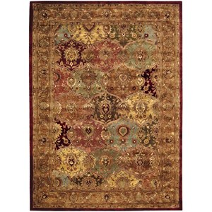 "8'3"" x 11'6"" Multicolor Rectangle Rug"