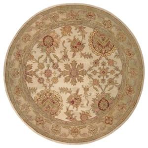 Nourison Jaipur 8' x 8' Ivory Round Rug