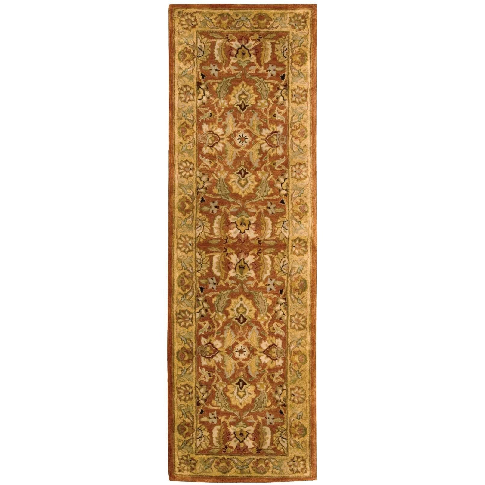 "Nourison Jaipur 3'9"" x 5'9"" Rust Rectangle Rug - Item Number: JA29 RUS 39X59"