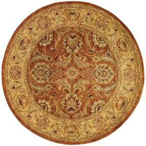 Nourison Jaipur 6' x 6' Rust Round Rug