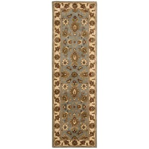 "Nourison Jaipur 2'4"" x 8' Light Blue Runner Rug"