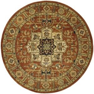 Nourison Jaipur 8' x 8' Brick Round Rug