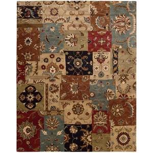 """Nourison Jaipur 9'6"""" x 13'6"""" Multicolor Rectangle Rug"""