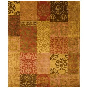 "Nourison Jaipur 7'9"" x 9'9"" Multicolor Rectangle Rug"