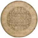 Nourison Jaipur 6' x 6' Kiwi Round Rug - Item Number: JA44 KIWI 6X6