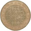 Nourison Jaipur 8' x 8' Kiwi Round Rug - Item Number: JA44 KIWI 8X8