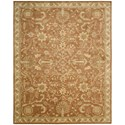 "Nourison Jaipur 9'6"" x 13'6"" Terraco Rectangle Rug - Item Number: JA45 TER 96X136"