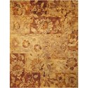 "Nourison Jaipur 9'6"" x 13'6"" Multicolor Rectangle Rug - Item Number: JA48 MTC 96X136"