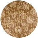 Nourison Jaipur 6' x 6' Bronze Round Rug - Item Number: JA51 BRONZ 6X6