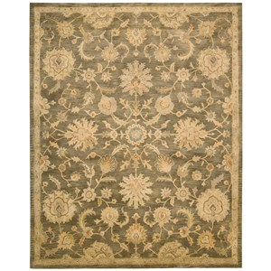 "Nourison Jaipur 8'3"" x 11'6"" Mushroom Rectangle Rug"