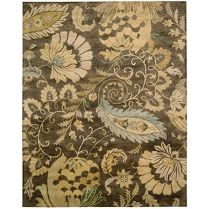 "Nourison Jaipur 5'6"" x 8'6"" Moss Rectangle Rug"