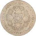 Nourison Jaipur 8' x 8' Taupe Round Rug - Item Number: JA56 TAU 8X8