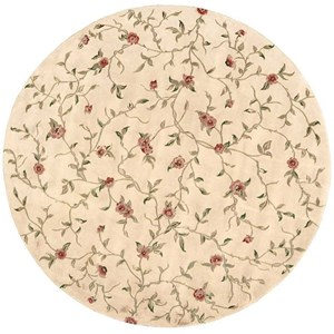 Nourison Julian 8' x 8' Light Gold Round Rug