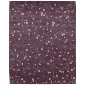 Nourison Julian 8' x 11' Lavender Rectangle Rug