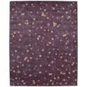 Nourison Julian 8' x 11' Lavender Rectangle Rug - Item Number: JL27 LAV 8X11