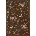 "Nourison Julian 5'3"" x 8'3"" Mushroom Rectangle Rug - Item Number: JL53 MSH 53X83"