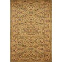 "Nourison Kathy Ireland Home presents Lumiere 2'3"" x 7'9"" Sage Area Rug - Item Number: 03552"