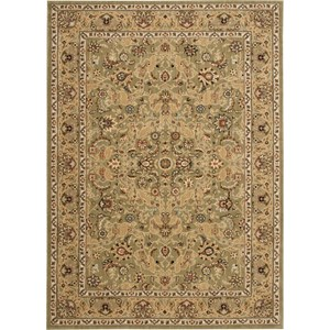 "Nourison Kathy Ireland Home presents Lumiere 3'6"" x 5'6"" Sage Area Rug"