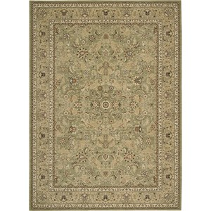"Nourison Kathy Ireland Home presents Lumiere 7'9"" x 10'10"" Sage Area Rug"