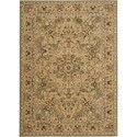 "Nourison Kathy Ireland Home presents Lumiere 9'6"" x 13' Sage Area Rug - Item Number: 03564"