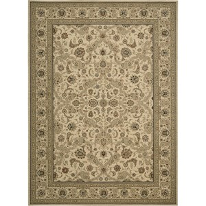 "Nourison Kathy Ireland Home presents Lumiere 9'6"" x 13' Beige Area Rug"