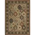 "Nourison Kathy Ireland Home presents Lumiere 3'6"" x 5'6"" Multicolor Area Rug - Item Number: 04281"