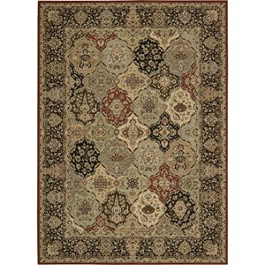 "Nourison Kathy Ireland Home presents Lumiere 9'6"" x 13' Multicolor Area Rug"