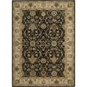 "Nourison Kathy Ireland Home presents Lumiere 3'6"" x 5'6"" Onyx Area Rug - Item Number: 04356"