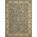 "Nourison Kathy Ireland Home presents Lumiere 7'9"" x 10'10"" Slate Blue Area Rug - Item Number: 05281"