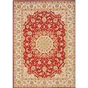 "Nourison KI12: Ancient Times 9'3"" x 12'9"" Rug - Item Number: 24155"
