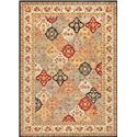 "Nourison KI12: Ancient Times 5'3"" x 7'5"" Rug - Item Number: 24162"