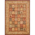 "Nourison KI12: Ancient Times 2'2"" x 7'6"" Rug - Item Number: 24165"