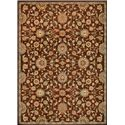 "Nourison KI12: Ancient Times 9'3"" x 12'9"" Rug - Item Number: 24192"