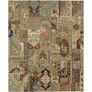 "Nourison Legend 7'9"" x 9'9"" Multicolor Area Rug"