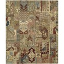 "Nourison Legend 7'9"" x 9'9"" Multicolor Area Rug - Item Number: 02603"