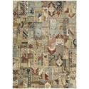 "Nourison Legend 9'9"" x 13'9"" Multicolor Area Rug - Item Number: 02608"