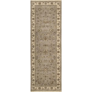 "Nourison Legend 2'6"" x 8' Grey Area Rug"