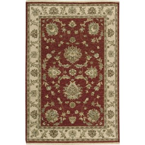 "Nourison Legend 3'9"" x 5'9"" Red Area Rug"