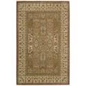 "Nourison Legend 3'9"" x 5'9"" Multicolor Area Rug - Item Number: 09597"